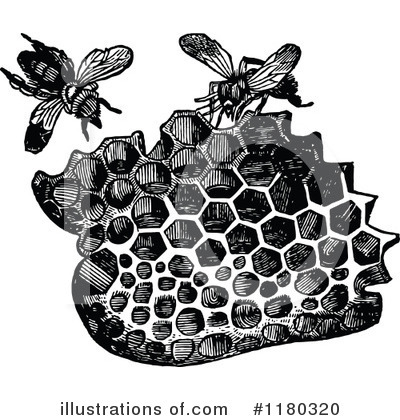 Bees Clipart #1180320 by Prawny Vintage