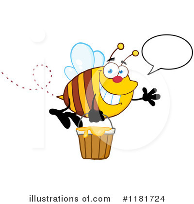 Honey Clipart #1181724 by Hit Toon