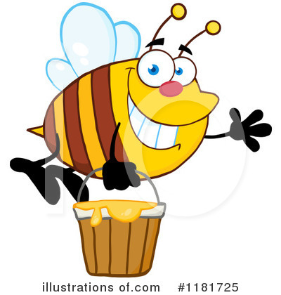 Honey Clipart #1181725 by Hit Toon