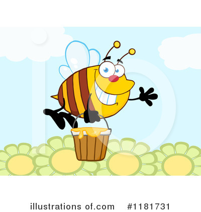 Honey Clipart #1181731 by Hit Toon