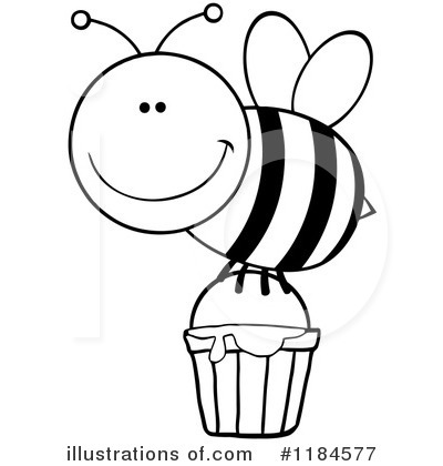 Honey Clipart #1184577 by Hit Toon