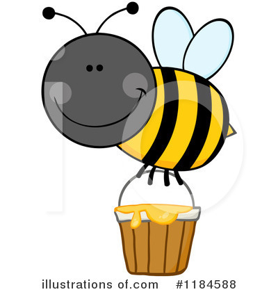 Honey Clipart #1184588 by Hit Toon
