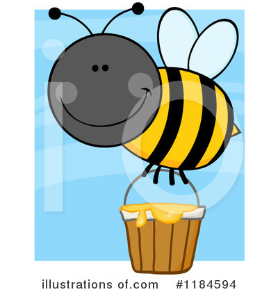 Honey Clipart #1184594 by Hit Toon