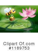 Royalty-Free (RF) Bee Clipart Illustration #1189753