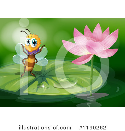 Water Lily Clipart #1190262 by Graphics RF