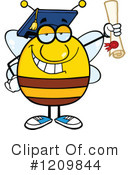 Bee Clipart #1209844 by Hit Toon