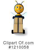 Bee Clipart #1210058 by Julos