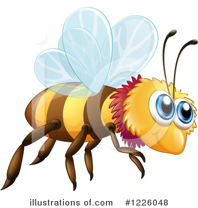 Bee Clipart #1226048 by Graphics RF