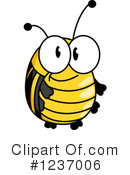 Bee Clipart #1237006 by Vector Tradition SM