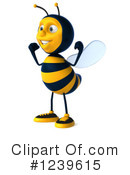 Bee Clipart #1239615 by Julos