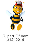 Bee Clipart #1240019 by Julos