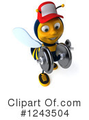 Bee Clipart #1243504 by Julos