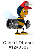 Bee Clipart #1243507 by Julos