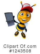 Bee Clipart #1243508 by Julos
