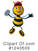 Bee Clipart #1243509 by Julos