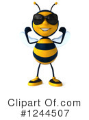 Bee Clipart #1244507 by Julos