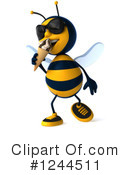 Bee Clipart #1244511 by Julos