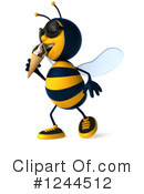 Bee Clipart #1244512 by Julos