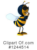 Bee Clipart #1244514 by Julos