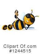 Bee Clipart #1244515 by Julos