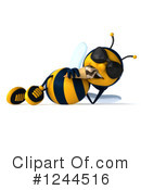 Bee Clipart #1244516 by Julos