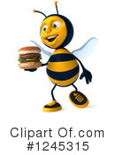 Bee Clipart #1245315 by Julos