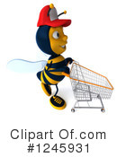 Bee Clipart #1245931 by Julos