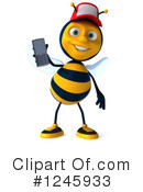 Bee Clipart #1245933 by Julos