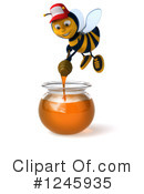 Bee Clipart #1245935 by Julos