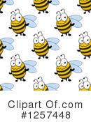 Bee Clipart #1257448 by Vector Tradition SM