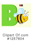 Bee Clipart #1257804 by Hit Toon