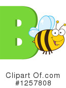 Bee Clipart #1257808 by Hit Toon