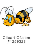 Bee Clipart #1259328 by dero
