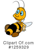 Bee Clipart #1259329 by dero