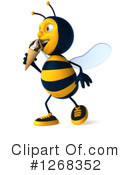 Bee Clipart #1268352 by Julos
