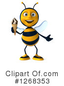 Bee Clipart #1268353 by Julos