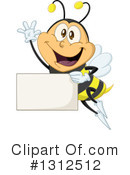 Bee Clipart #1312512 by Liron Peer