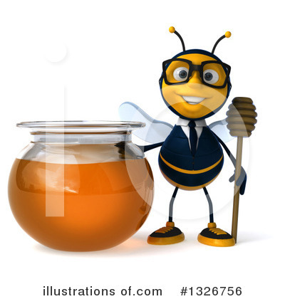 Business Bee Clipart #1326756 by Julos