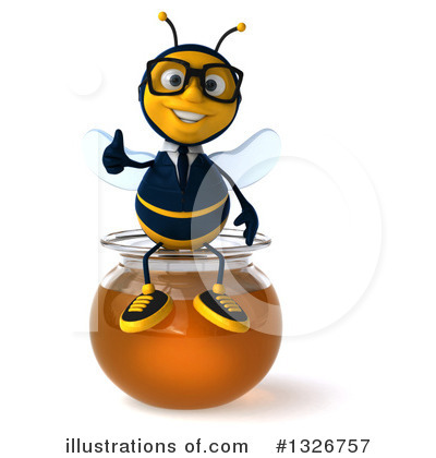 Business Bee Clipart #1326757 by Julos