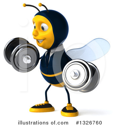 Business Bee Clipart #1326760 by Julos
