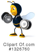 Bee Clipart #1326760 by Julos