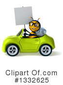 Bee Clipart #1332625 by Julos