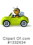Bee Clipart #1332634 by Julos