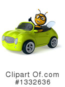 Bee Clipart #1332636 by Julos