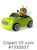 Bee Clipart #1332637 by Julos