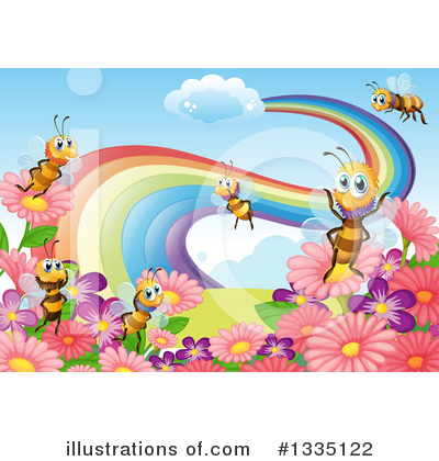 Rainbow Clipart #1335122 by Graphics RF