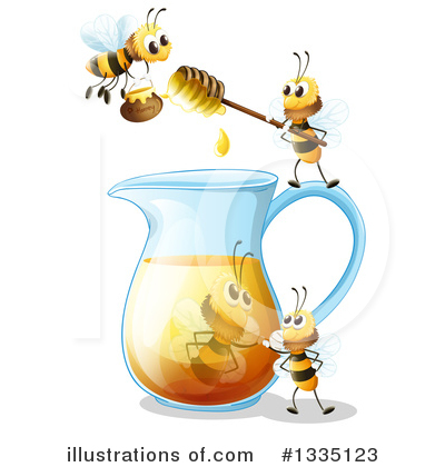 Honey Clipart #1335123 by Graphics RF