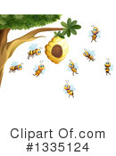 Bee Clipart #1335124