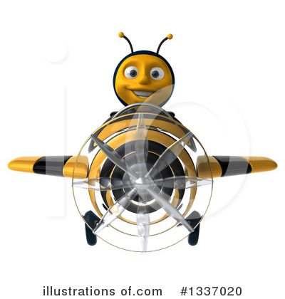 Bee Clipart #1337020 by Julos