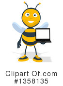 Bee Clipart #1358135 by Julos